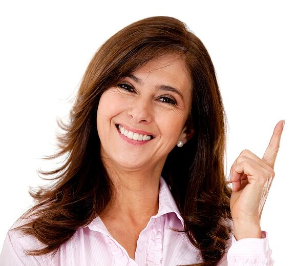 Happy woman pointing a business idea - isolated over white-1.jpeg